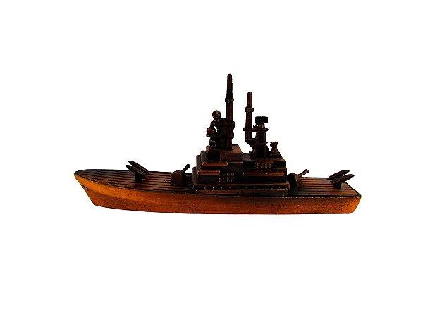 Navio  Contratorpedeiro Decorativo Apontador