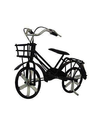 Bicicleta Pequena De Metal Com Cestinha