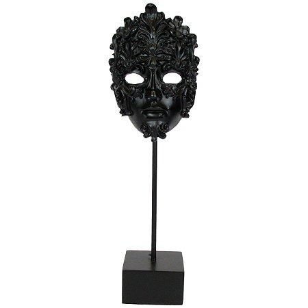 Escultura Máscara Decorativa Veneza