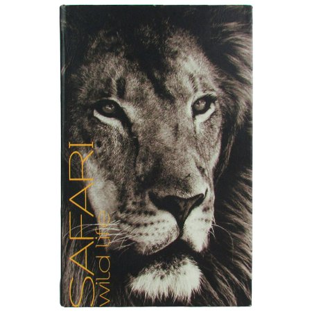 Caixa Livro Decorativa Book Box Safari Leão