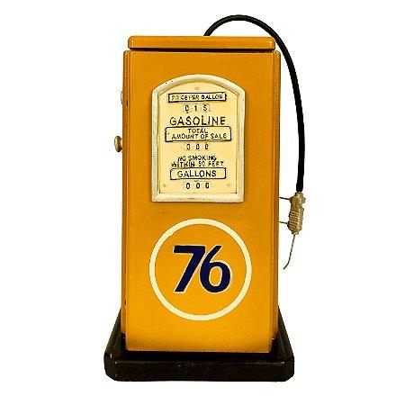 Bomba De Gasolina Vintage Retrô Decorativa Miniatura