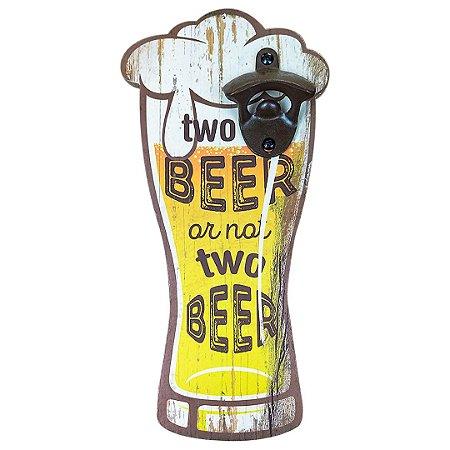 Abridor De Garrafa Para Para Parede Beer