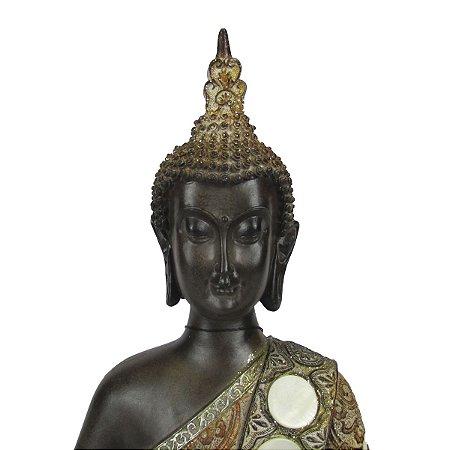 Escultura Decoração Buda Hindu Meditando