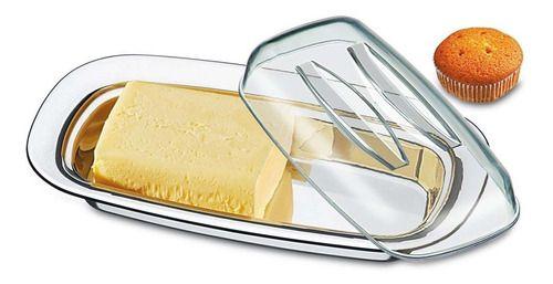 Manteigueira Com Cúpula 2 Peças Brinox