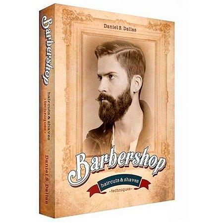 Livro Caixa Decorativo Book Box Barbershop