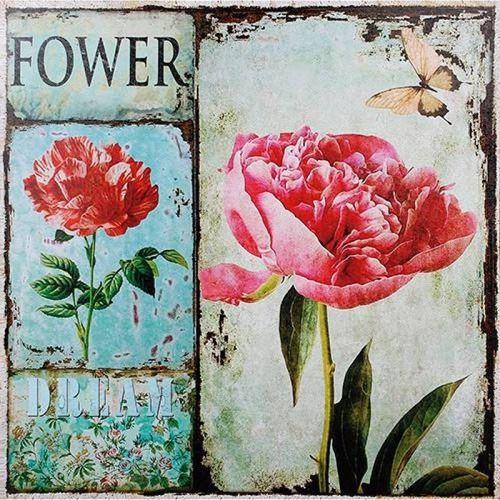 Tela Quadro Flower Dream Fullway