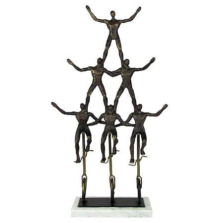 Escultura Torre Humana