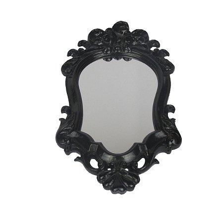 Espelho Preto Clássico Pequeno