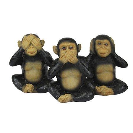 Conjunto Decorativo Tres Macacos