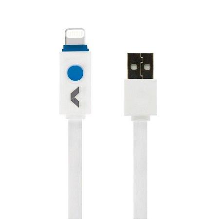 Cabo de dados USB LED  - Compatível Lightning