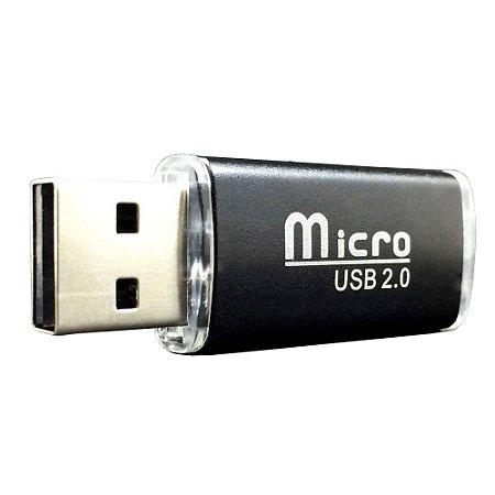 Leitor de cartão USB para MicroSD