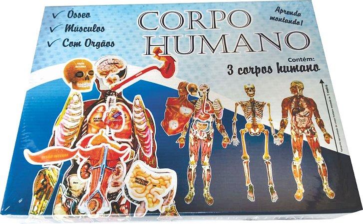 BRINQUEDO CORPO HUMANO 1 METRO DE ALTURA