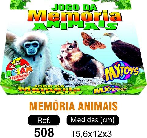 BRINQUEDO JOGO MEMÓRIA ANIMAIS