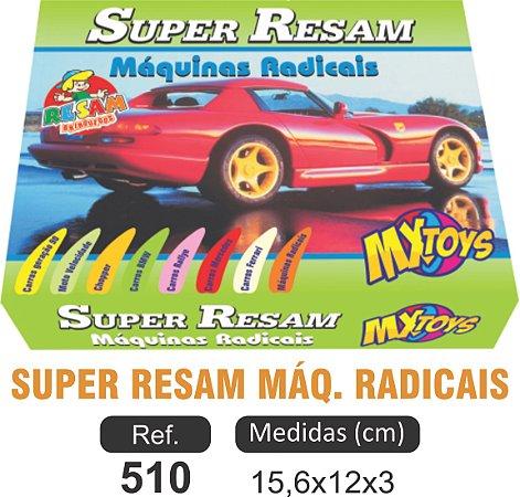 BRINQUEDO JOGO SUPER RESAM MÁQUINAS RADICAIS