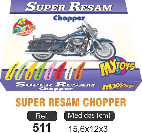 BRINQUEDO JOGO SUPER RESAM CHOPPER