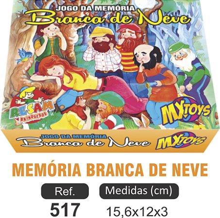 BRINQUEDO JOGO MEMÓRIA BRANCA DE NEVE