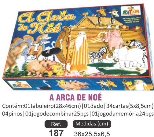 BRINQUEDO A ARCA DE NOÉ