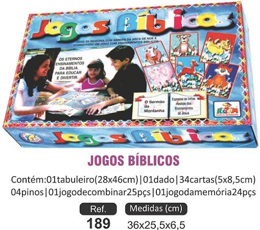 BRINQUEDO  JOGOS BÍBLICOS