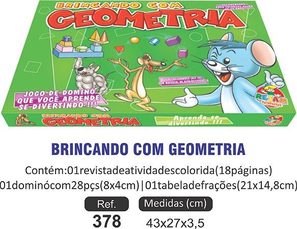 BRINCANDO BRINCANDO COM A GEOMETRIA