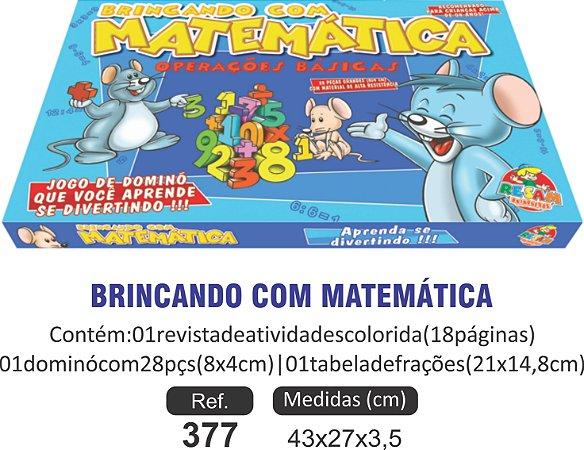 BRINCANDO COM A MATEMÁTICA