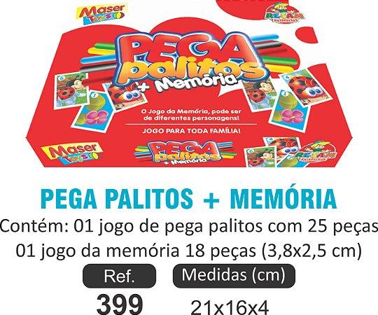 BRINQUEDO PAGA PALITOS + MEMÓRIA