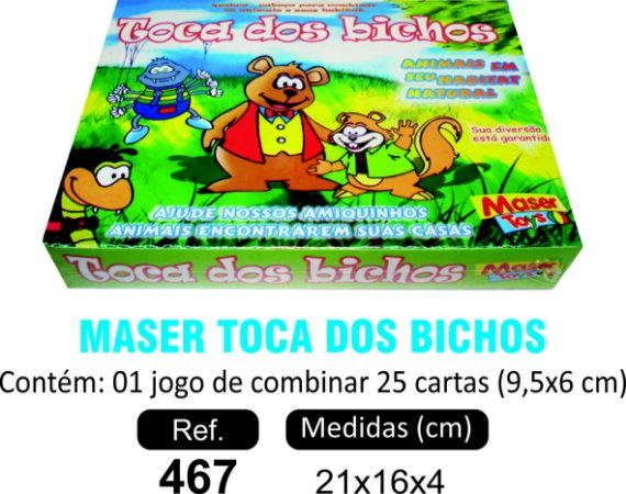 BRINQUEDO TOCA DOS BICHOS