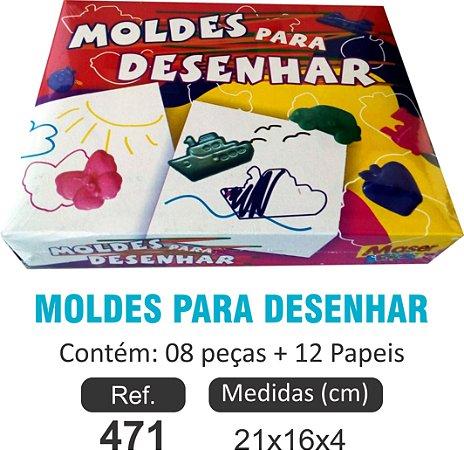 BRINQUEDO MOLDES PARA DESENHAR