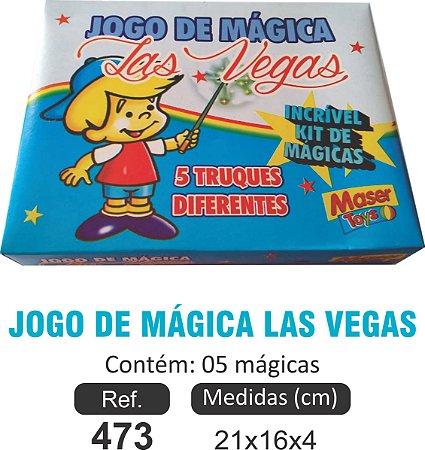 BRINQUEDO JOGO DE MÁGICA LAS GEGAS