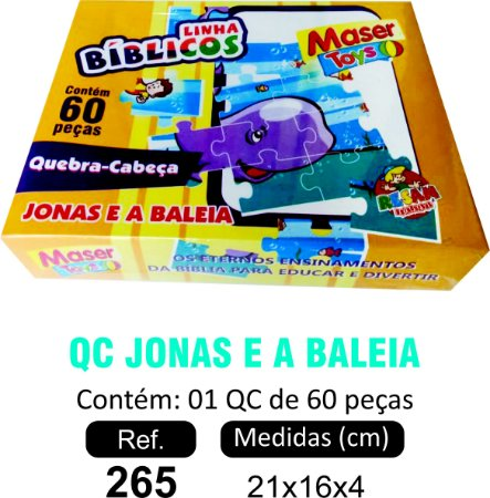 BRINQUEDO QC JONAS E A BALEIA