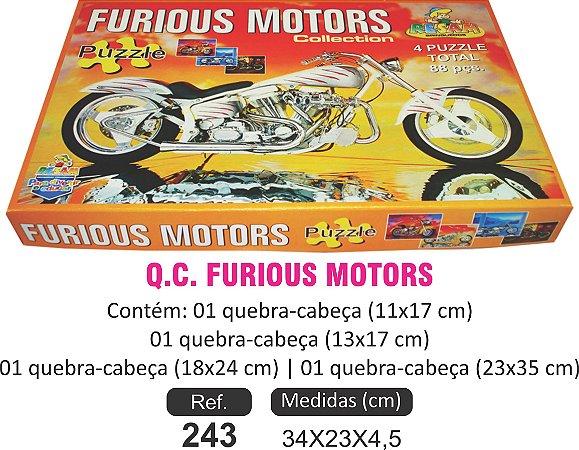 BRINQUEDO QC FURIOUS MOTORS 4X1