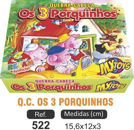 BRINQUEDO QC OS 3 PORQUINHOS
