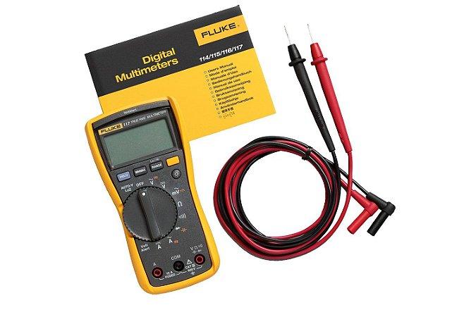 Fluke 117 – Multímetro Digital True-RMS para eletricistas com Detector de Tensão AC sem contato
