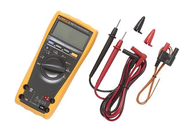Fluke 179 – Multímetro Digital Industrial True-RMS e medição Temperatura