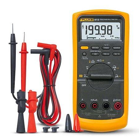 Fluke 87-5 – Multímetro Digital Profissional Industrial True-RMS