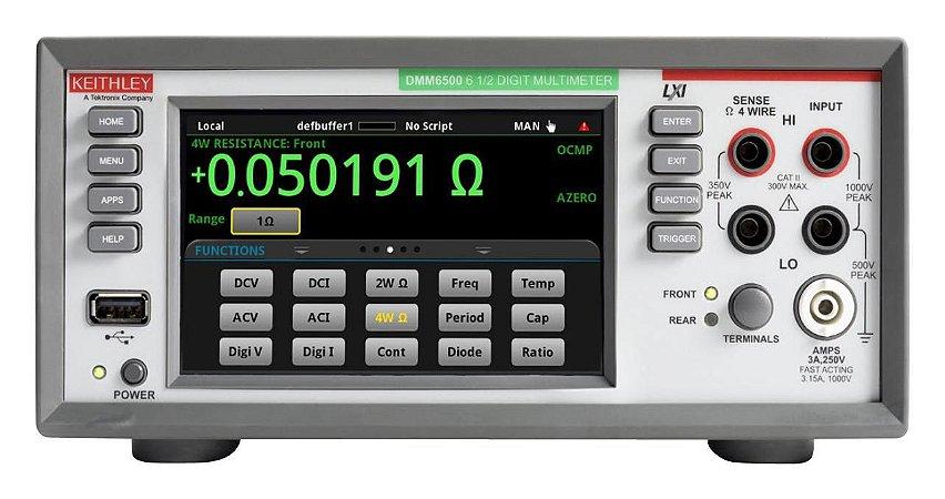 Keithley DMM 6500 - Multímetro digital gráfico touchscreen de 6½ dígitos