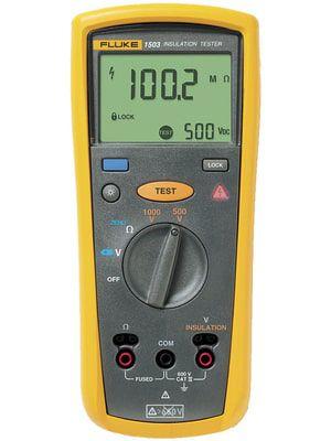 Fluke 1503 – Testador de resistência de isolamento de 500V e 1000V