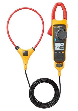 Fluke 376 FC – Alicate Amperímetro  AC/DC True-RMS com garra iFlex™ para medição 2500A AC