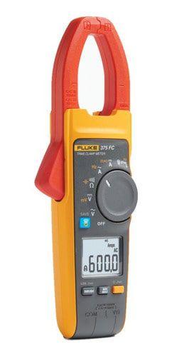 Fluke 375FC – Alicate Amperímetro True-RMS 600A AC/DC com  medição de frequência