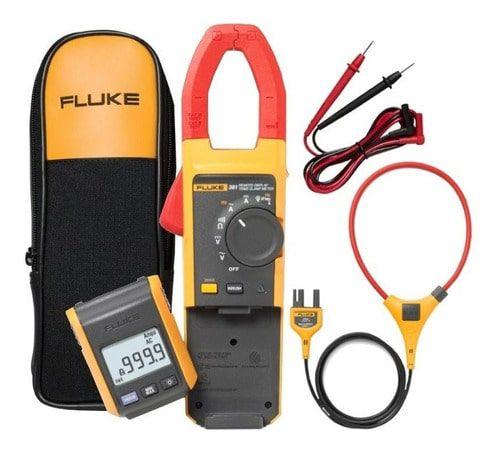 Fluke 381 – Alicate Amperímetro com  DISPLAY REMOVÍVEL, True-RMS 1000A AC/DC com garra IFLEX™ para medição 2500A