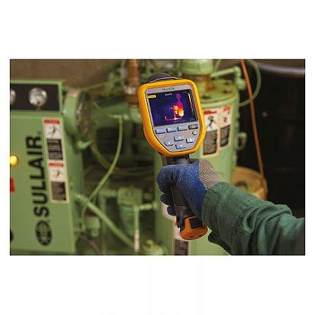 Fluke TiS20+ Câmera Termográfica – Resolução 120×90 – (Foco Fixo) – Medição de -20ºC a +150ºC