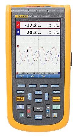 Fluke 124B – Osciloscópio Portátil ScopeMeter® Industrial (40MHz)