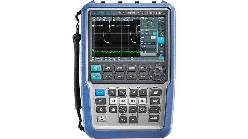 Rohde & Schwarz RTH1004 – Osciloscópio Portátil de 60MHz, 4 Canais Isolados, bateria