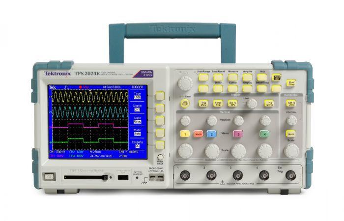 Tektronix TPS2012B – Osciloscópio 100MHz, 2 Canais Isolados, bateria