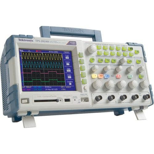 Tektronix TPS2024B – Osciloscópio 200MHz, 4 Canais Isolados, bateria