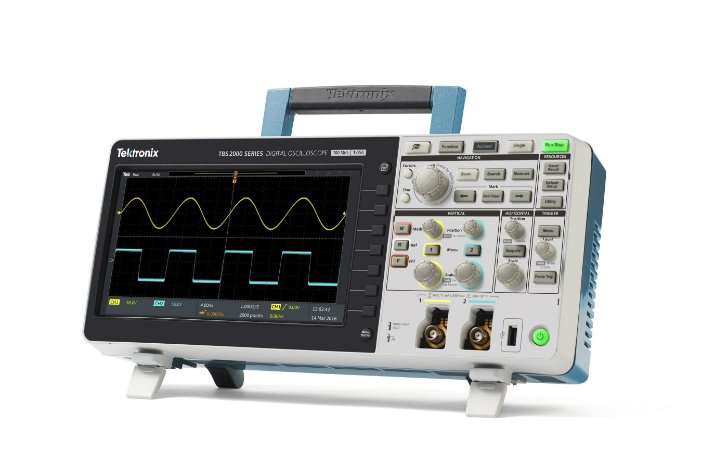 Tektronix TBS2072B- Osciloscópio 70MHz, 2 canais, 5M de memória e 5 anos de garantia