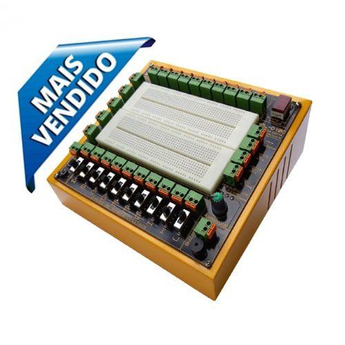 Módulo Didático de Eletrônica Digital com Fonte Variável Positiva – MPLD10C
