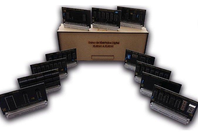 Cartões Opcionais para estudo de Eletrônica Digital – ZL-ED01 a ZL-ED11