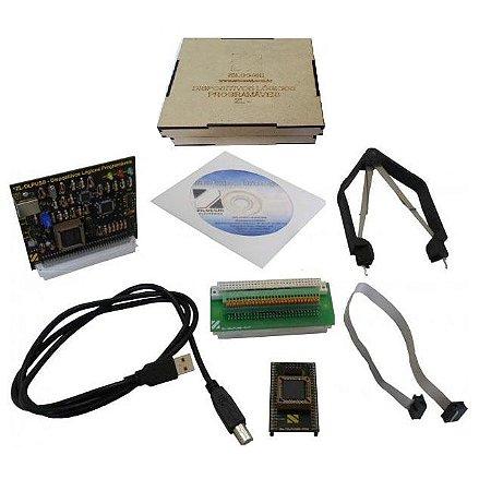 Cartão Opcional para estudo de Dispositivos Lógicos Programáveis (EPLD's) – ZL-DLPUSB