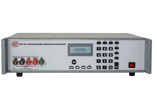 IET Labs PRS-300 – Década de Resistência Programável de Precisão