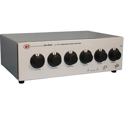 IET Labs Série GenRad 1413 – Década de Capacitância de Precisão.